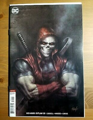 Red Hood Outlaw # 33 Parrillo Variant Cover NM DC