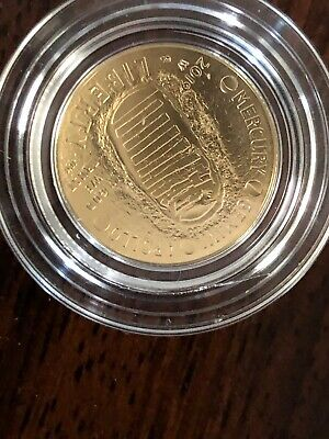 Apollo 11 50th Anniversary 2019 W Uncirculated $5 Gold Coin US Mint 19CB Sealed