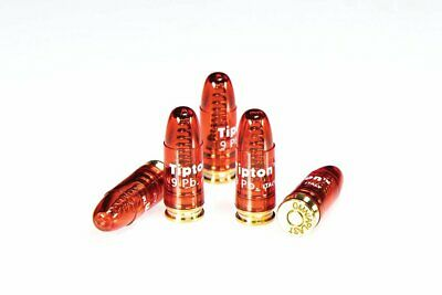 Tipton Snap Caps, 9mm Luger Caliber, 5-Pack, Gun Cleaning Supplies #303958