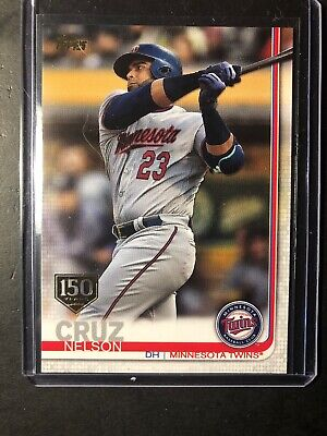 2019 Topps Series 2 150 Years Parallel Nelson Cruz #675 Twins
