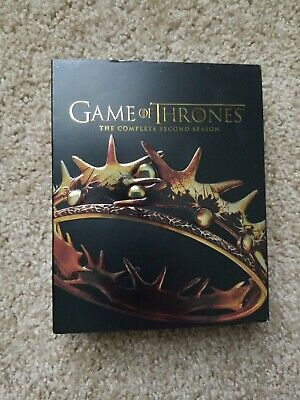Game of Thrones: The Complete Second Season (Blu-ray/DVD, 2013, 7-Disc Set, Inc…