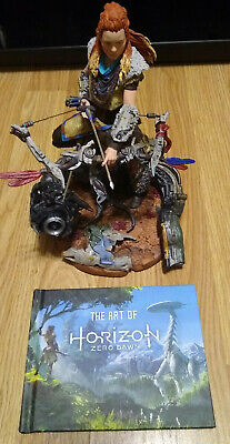 "Horizon Zero Dawn Collectors Edition Aloy 9"" Statue + Art Book (see description)"