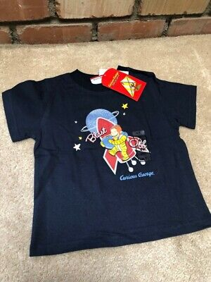 Curious George 4T rocket / space suit t-shirt -- RARE -- HTF -- NWT