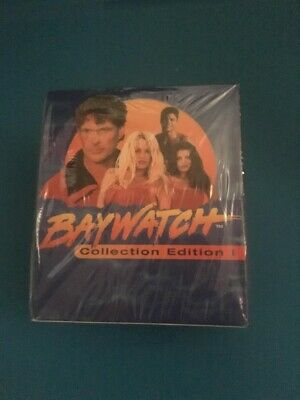 1995 Sports Time - Baywatch Collection Edition Trading Cards Sealed Box 36 Packs