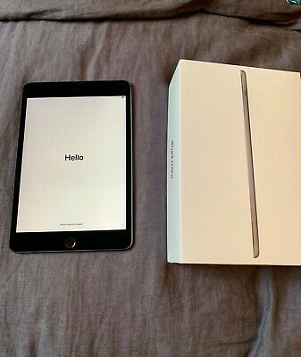iPad Mini (5th Generation) 64GB, Wi-Fi, Space Grey - warranty until April 2020