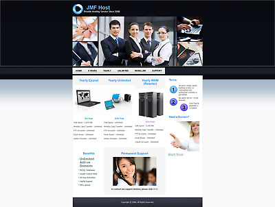 1000 MB Diskspace and Unlimited Bandwidth Cpanel Web Hosting - 1 Year
