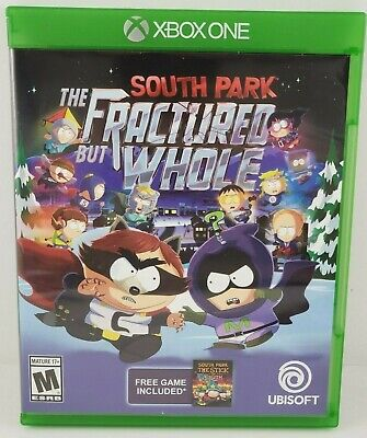 South Park The Fractured But Whole Xbox One No Scratches