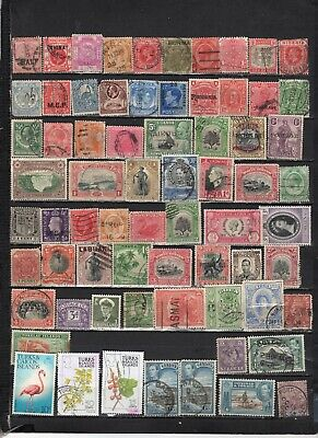 British Colonies - GB  collections  Lot Of Early Used Stamps (GBL6)
