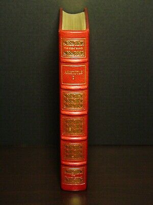 The Works Of Aristotle - Franklin Library - Great Books Western World - Leather