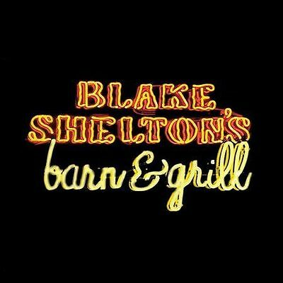"Blake Shelton, Cd ""Blake Shelton's Barn & Grill""  Like New"