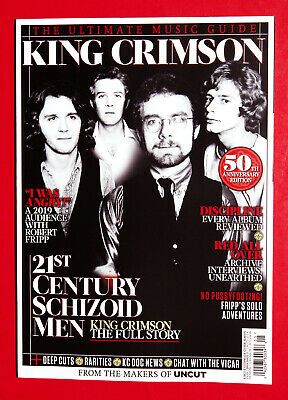 Uncut Ultimate Music Guide BOOK NEW 2019 KING CRIMSON 50th Anniversary