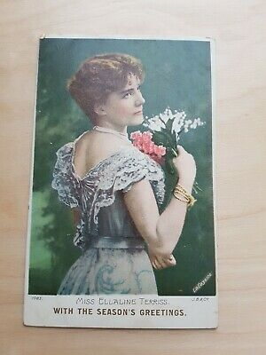 Vintage Collectible Postcard early 1900s Season's Greetings by 'LaFayette'