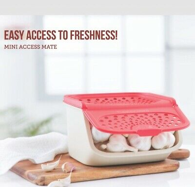 Tupperware Modular Mini Access Mate Potato - Garlic- Onion Keeper- 2.3Litre-New