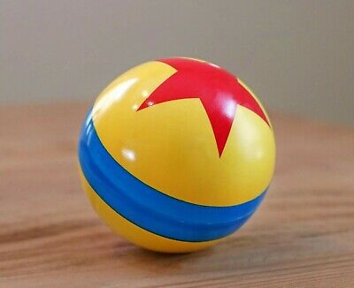 Disney Parks Pixar Toy Story  Luxo Jr Thick Bouncy Ball NEW + Maps