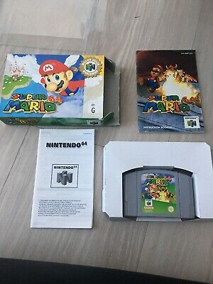 Super Mario 64 Nintendo 64 N64 Boxed PAL with Box Protector