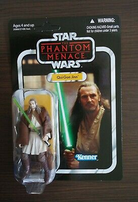 Star Wars Vintage Collection Qui-Gon Jinn (VC75) Unpunched Hasbro