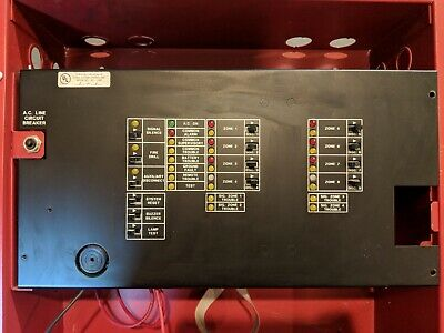 Gamewell Flex-8 Zone Conventional Fire Alarm Panel
