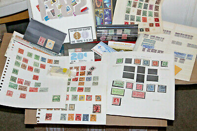 16Kg Box Of Stamps - Albums, Leaves, Covers, Stockcards, Ex Auction Lots Etc