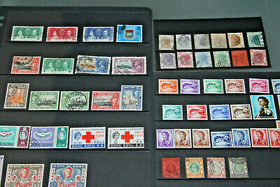 Hong Kong - Qv-Early Qeii Collection In Hagners - Mostly Mint