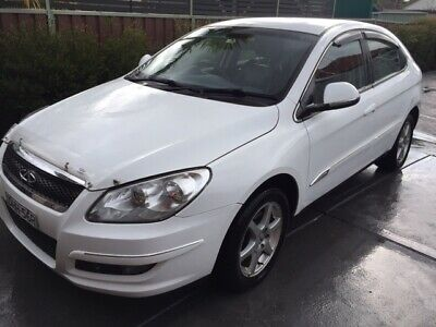 2013 White Chery J3, Only 79,000km, Going Cheap Auction no-reserve