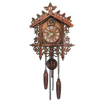 classic bird cuckoo clock cuckoo clock handma wood sculpture wall clock -s D3V0