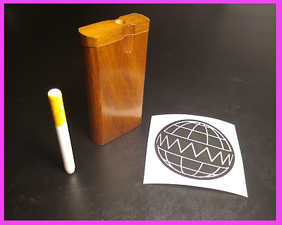 """4"""" Portable Dugout One Hitter Box With 3"""" Ceramic Bat"""