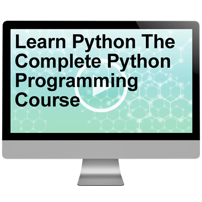 Learn Python The Complete Python Programming Course Video Training