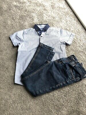 Boys Shirt And Jeans Age 5