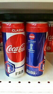 World Cup 2018 Limited Edition Coca Cola Can Coke