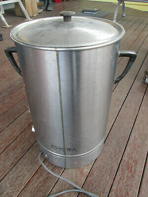 30litre Langco Urn Hot Water Boiler Electric Tea Coffee - almost art deco style