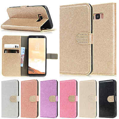 For Samsung A30 A70 A50 A8 Note 9 S7 S8 S9 S10 5G Case Flip Leather Wallet Cover