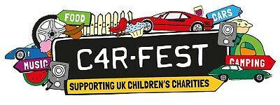 ***CarFest North Camping Tickets With Big Early** 2 x Adults and 1 x Child.