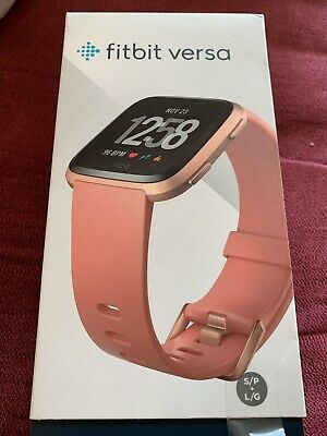 Fitbit Versa Rose Gold Activity Tracker Smart Watch