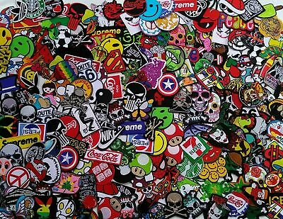 Wholesale Lot 30 RANDOM Cartoon Hero Iron on Patches Embroidered Sew Mix