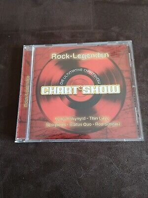 ★★★ CD - Die ultimative CHARTSHOW - Rock-Legenden ★★★