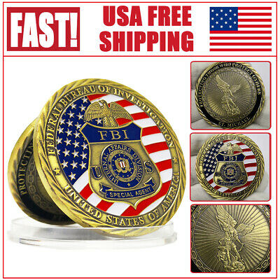 FBI Coin Federal Bureau of Invesyigation Special Agent Internal Afeairs Division