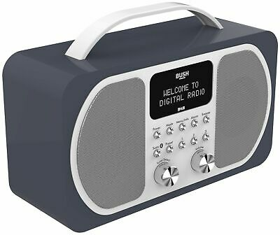 Bush DAB Bluetooth Radio - Midnight Blue-GT84.