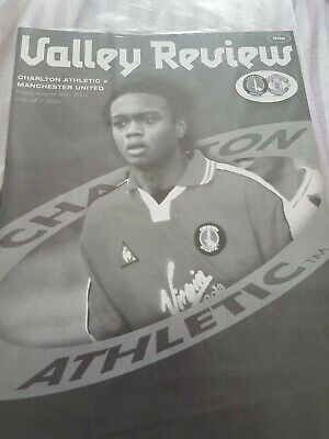 Charlton Athletic v Manchester United 30/08/02