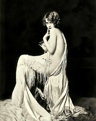 LILLIAN BOND Ziegfeld Follies Showgirl 8x10 Black & White Publicity Photo Print