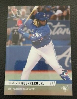 Vladimir Guerrero Jr 2019 Topps Now Spring Expo No Number RC SP Gem Mint