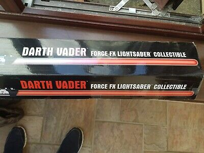 NEW Star Wars Darth Vader Force FX Lightsaber Collectible Master Replicas SW-207