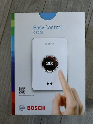 BOSCH Thermostat d'ambiance tactile connectée EasyControl CT200 - Bosch - Blanc