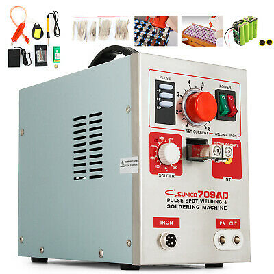 709AD 3 in 1 Battery Pulse Spot Welder Battery Soldering Welding Machine 3.2KW