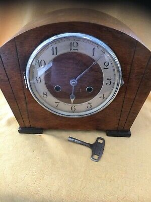 Art Deco Antique Westminster Chime Gong Clock 30Wide X 23tall X 13Deep