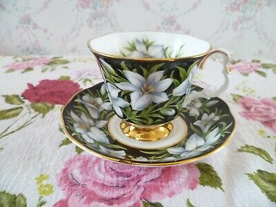 Royal Albert English China Tea Cup & Saucer Provincial Flowers Madonna Lily