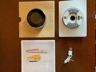 Nest 2nd Generation Learning Programmable Thermostat Stainless - T20577