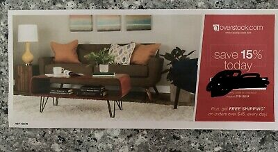 OVERSTOCK COUPON 15% Off Expires 7/31/19
