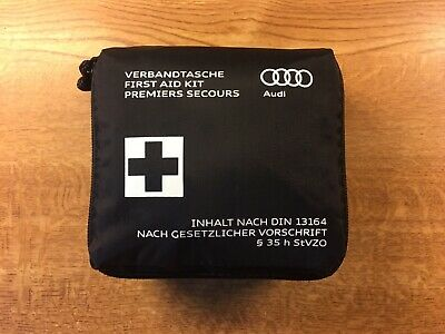Genuine Audi In Car Compact First Aid Kit Sterile Date 01-2023 Q7 S3 A4 Q3 TT A6