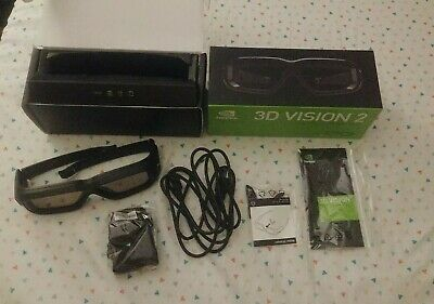 NVIDIA 3D Vision 2 Wireless Glasses Model: P1431Never used CIB