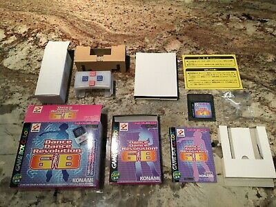 Dance Dance Revolution Gameboy GB Complete CIB All Inserts Tested US Seller